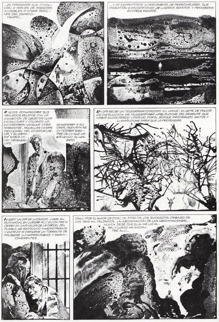 Breccia, les mythes de Chtulhu